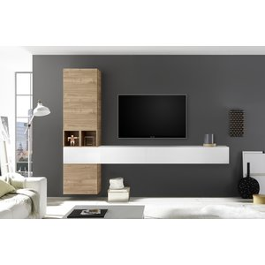 Benvenuto Design Bex TV-wandmeubel 50 Eiken