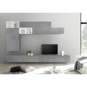 Benvenuto Design Bex TV-wandmeubel 51 Beton