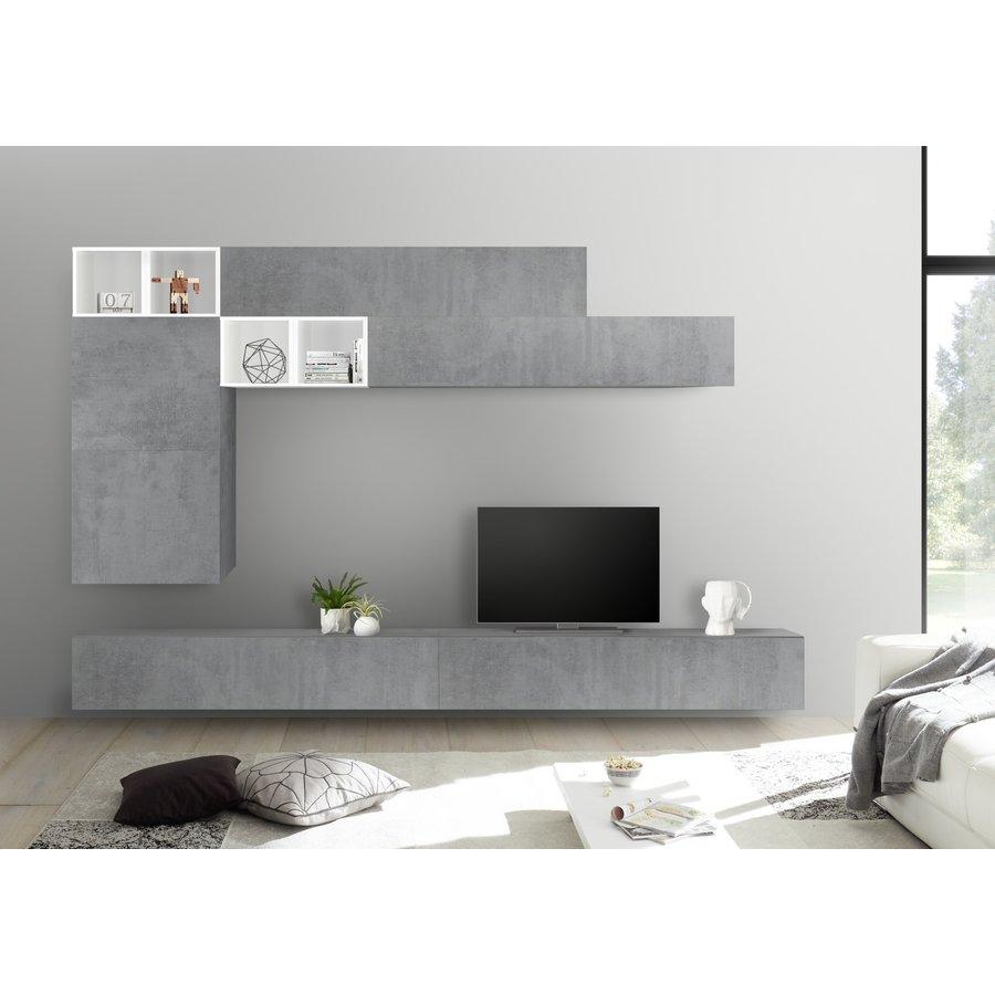 Bex TV-wandmeubel 51 Beton