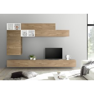 Benvenuto Design Bex TV-wandmeubel 51 Eiken