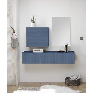 Benvenuto Design Dax Halmeubelset 3 Blauw