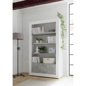 Benvenuto Design Urbino Boekenkast Wit / Beton