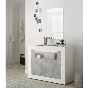 Benvenuto Design Urbino Dressoir 110 cm Wit / Beton