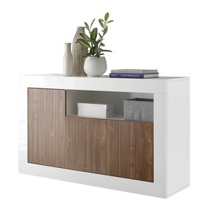 Benvenuto Design Urbino Dressoir 138 cm Wit / Walnoot