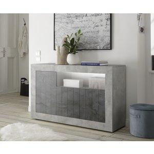 Benvenuto Design Urbino Dressoir 138 cm Beton / Oxid