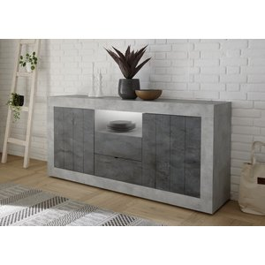 Benvenuto Design Urbino Dressoir 184 cm Beton / Oxid