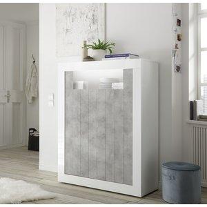 Benvenuto Design Urbino Opbergkast Wit / Beton