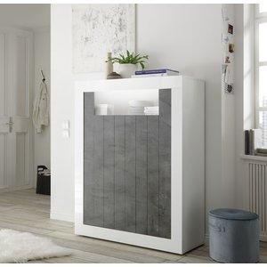 Benvenuto Design Urbino Opbergkast Wit / Oxid