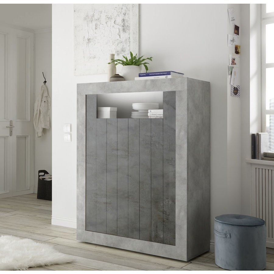 Urbino Opbergkast Beton / Oxid