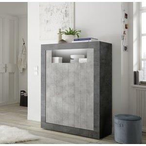 Benvenuto Design Urbino Opbergkast Oxid / Beton
