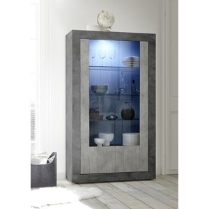 Benvenuto Design Urbino Vitrinekast Oxid / Beton
