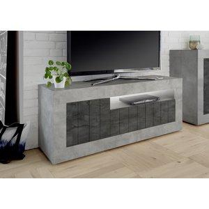 Benvenuto Design Urbino TV-meubel Beton / Oxid