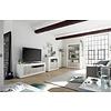 Urbino TV-meubel Wit / Eiken