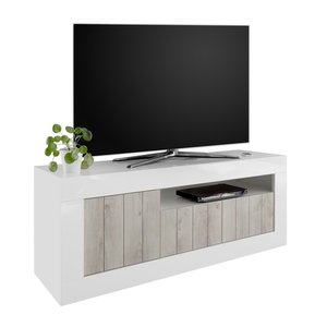 Benvenuto Design Urbino TV-meubel Wit / Eiken
