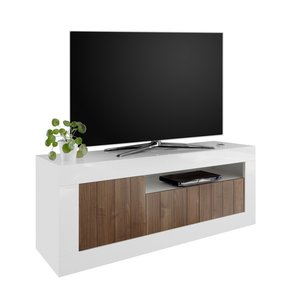 Benvenuto Design Urbino TV-meubel Wit / Walnoot
