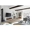 Urbino TV-meubel Wit / Walnoot