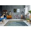 Blaze Vloerkleed 155 x 230 cm Blauw