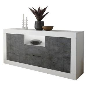 Benvenuto Design Urbino Dressoir 184 cm Wit / Oxid