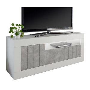Benvenuto Design Urbino TV-meubel Wit / Beton