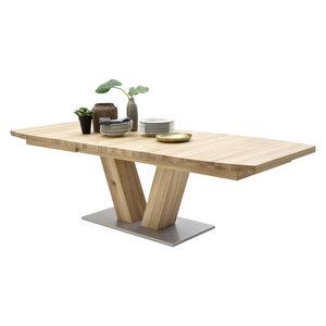 Nova Design Managua Eettafel Eiken 140 - 220 cm