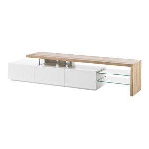 Nova Design Alimos TV-meubel Wit / Eiken