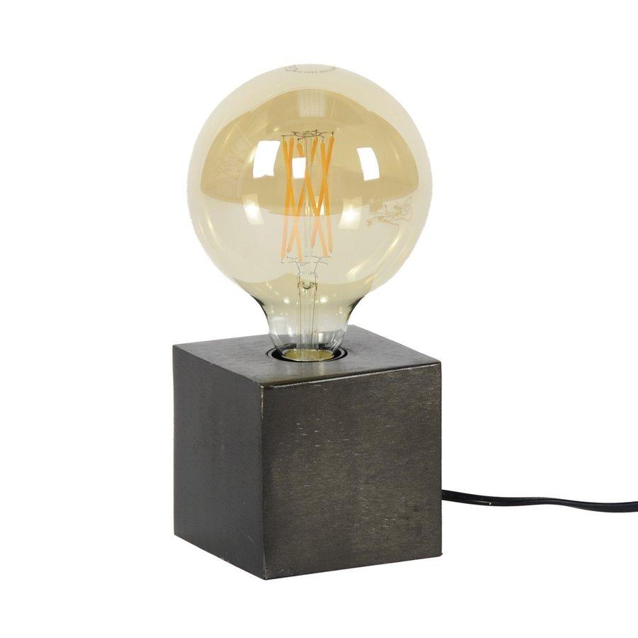Block Tafellamp Zwart