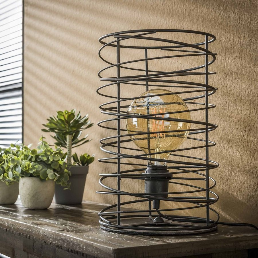 Spiraal Tafellamp