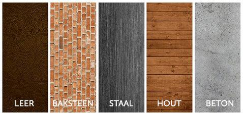 Materialen Industriele woonstijlen - Furnea