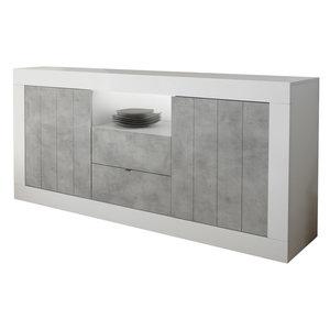 Benvenuto Design Urbino Dressoir 184 cm Wit / Beton