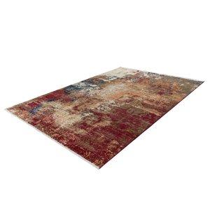 Lalee Medellin Vloerkleed 120 x 170 cm Rood