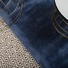 Breeze Vloerkleed 160 x 230 cm Blauw