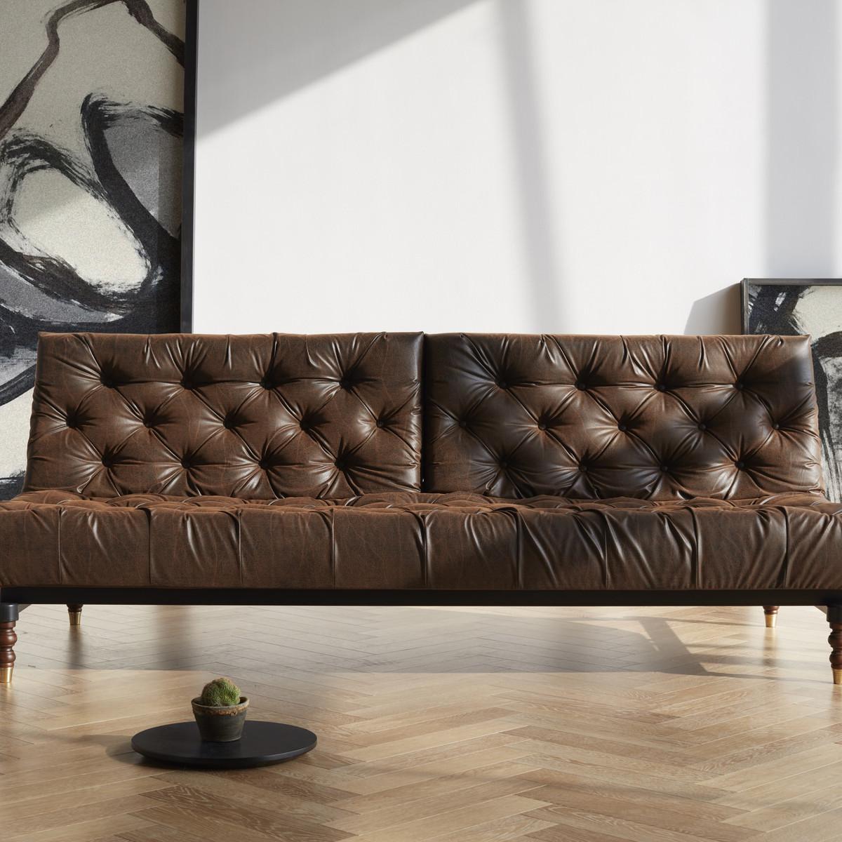 Mooie Moderne Slaapbank.Leren Slaapbanken Bij Furnea Een Luxe Bank Plus Comfortabel Bed