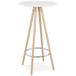 Bondy Living Deboo Bartafel Wit / Naturel