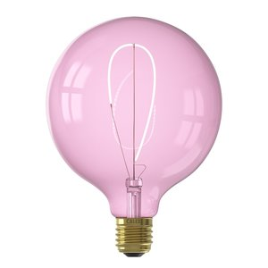 Calex Holland Nora G125 LED Lamp Roze