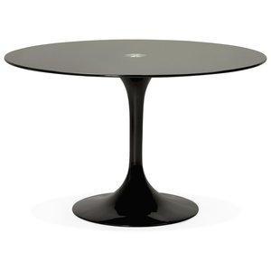 Bondy Living Dakota Eettafel Glas Zwart