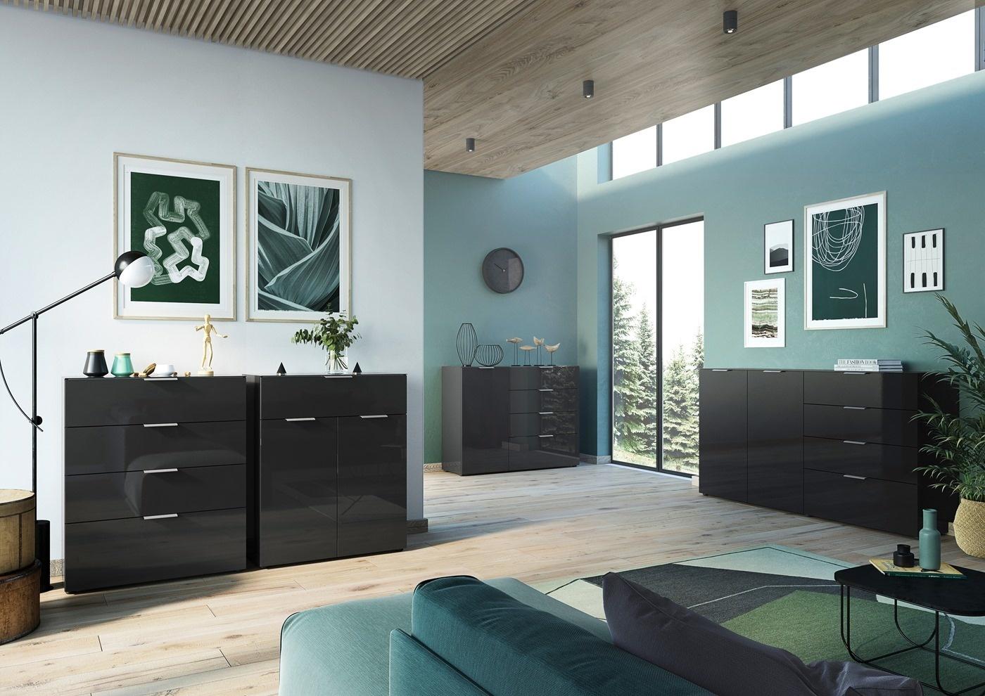 Zwarte meubels