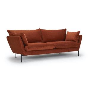 Kragelund Hasle Lux 2-zits Bank Oranje