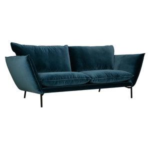 Sits Hugo 2-zits Bank Blauw