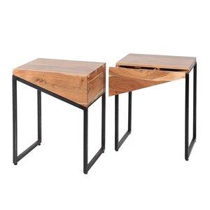 Davidi Design Slice Nachtkastje Set Van Twee