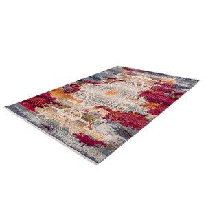 Kayoom Anouk 120 x 170 cm Vloerkleed Rood Multi