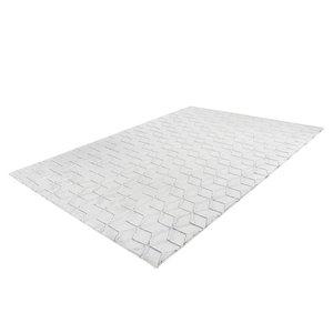 Kayoom Vivica 160 x 230 cm Vloerkleed Wit/Antraciet