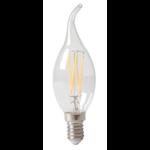 8x Lichtbron LED filament Sierkaars Dimbaar