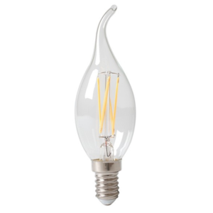 5x Lichtbron LED filament Sierkaars Dimbaar