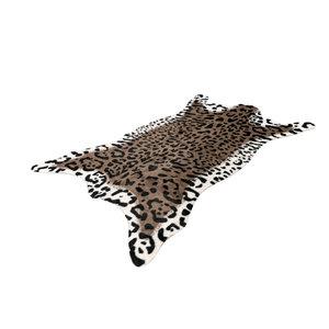 Kayoom Desert Tiger Vloerkleed Bruin / Wit