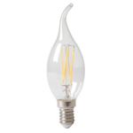 12x Lichtbron LED filament Sierkaars Dimbaar