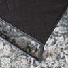 Black Herringbone Salontafel Set Large