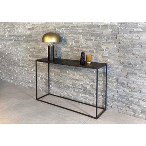 Davidi Design Black Herringbone Sidetable
