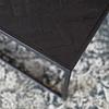 Black Herringbone Vierkante Salontafel