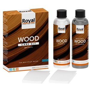 Oranje Furniture Care WaxOil Wood Care Kit + Cleaner