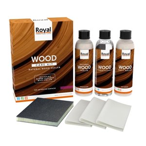 Oranje Furniture Care Natural Wood Sealer - Wood Care Kit